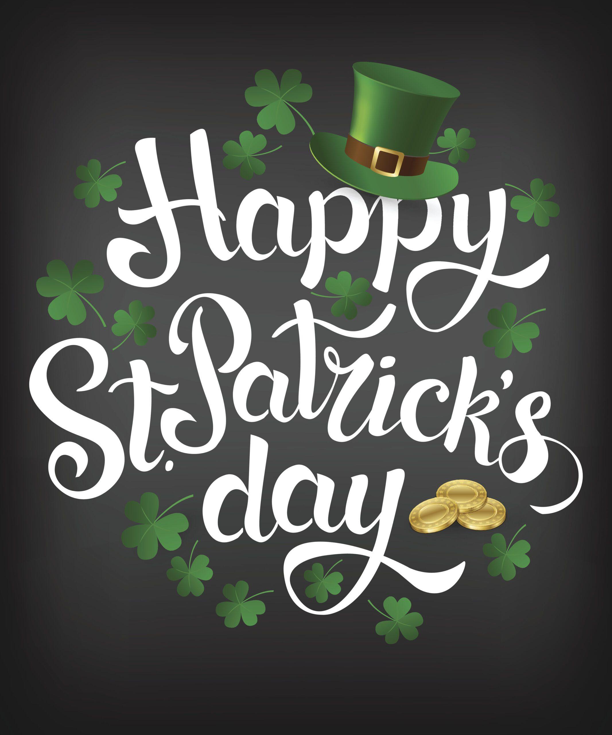 """Happy St. Patrick's Day"" logo"