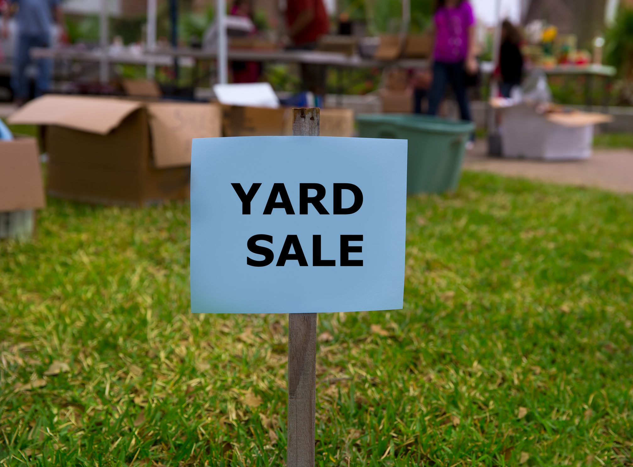 Bel Aire Yard Sale