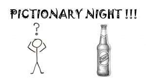 Pictionary night at Bel Aire