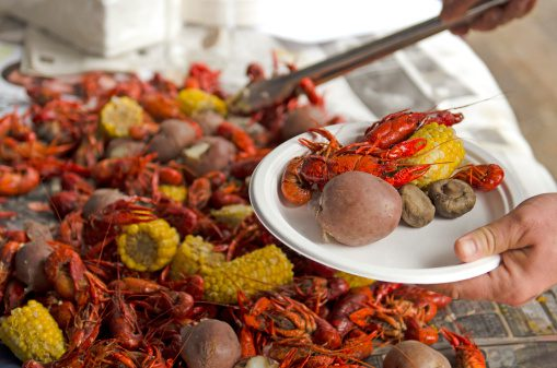 Crawlfish boil