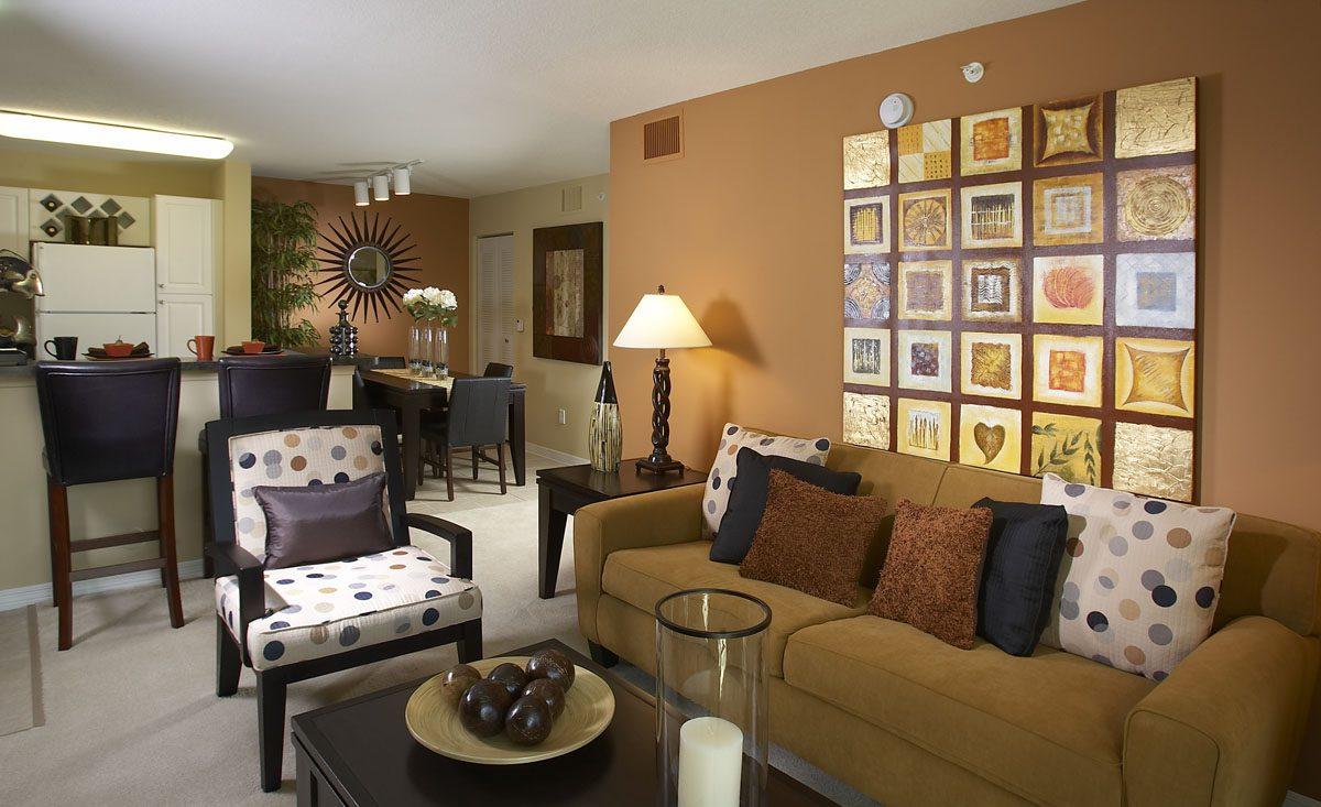 The Malibu living room