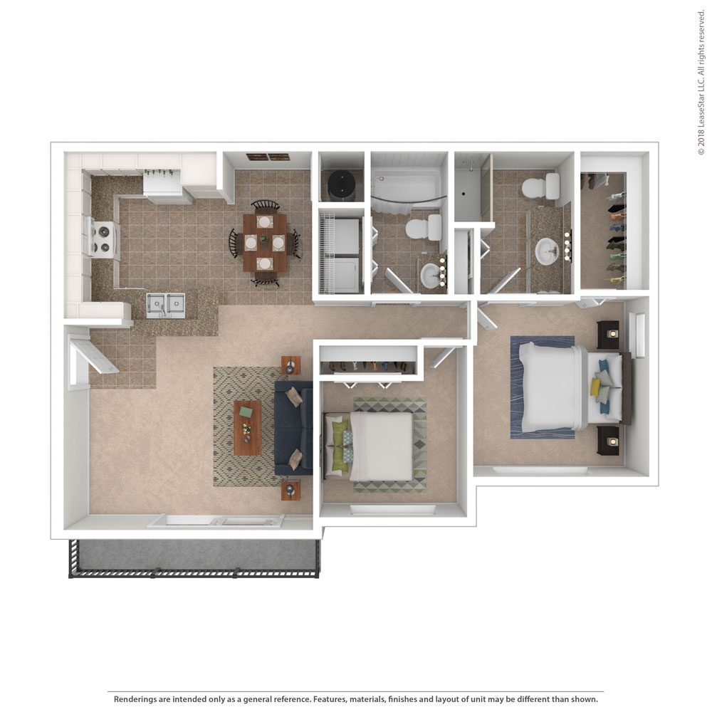The Malibu Floor Plan