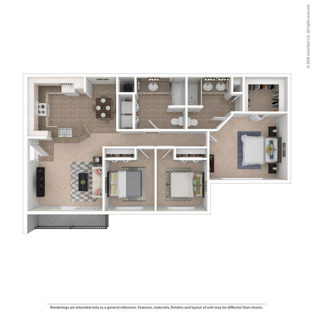 Bel Aire Terrace Luxury Apartments