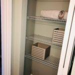 19 Bel Aire Terrace Model linen closet