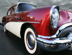 Classic & Vintage Series - various imsges depicting details from classic and vintage automobiles
