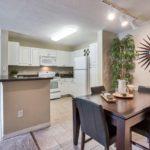 Bel Aire Terrace model 2x2 kitchen