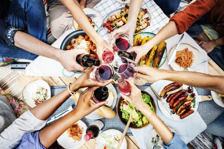 Cheers dinner gathering